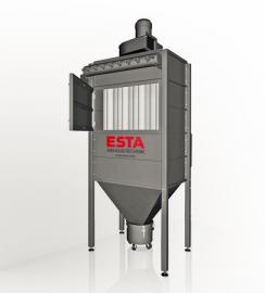 ESTA代理ESTAgong业除chen器DUSTMAC P-20移动除chen器