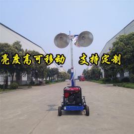 手推式照明车 拖车式照明车 多功能应急移动照明车