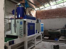 自动加压箱式喷砂机