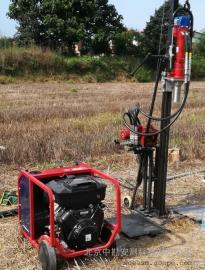 HP18土壤直推式液压钻机 30米无水无扰动取样