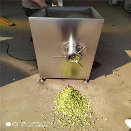 优质冻鲜两用绞肉机连续操作的不锈钢绞肉机
