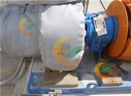 可拆卸泵保温套