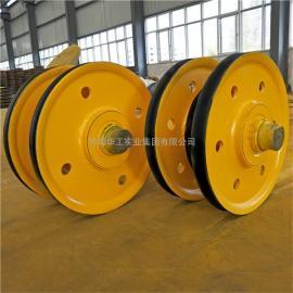 5吨/10吨/16吨/20吨/32吨/50吨起重机钢丝绳滑轮组 铸钢轧制