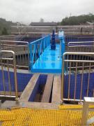 沃利克 中心传动吸刮泥机 半桥式中心传动