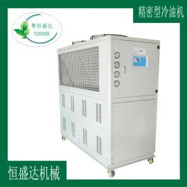 公明抗磨液压油冷油机【20匹工业冷油机参数免冷却塔】