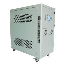 工厂用工业水冷散热系统防尘防震柜式冷水机