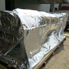 大型机器设备真空包装袋 铝箔立体袋 大型立体铝塑袋