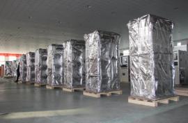 铝箔编织袋生产120克到150克门幅可定制设备包装铝箔编织袋
