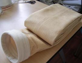 玻璃纤维高温除尘布袋稳定性强 在标准温度内玻璃纤维本身不收缩