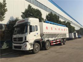 si轴的猪场diandong送料车 20吨饲料专用车shengchan基地