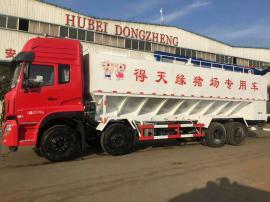 养zhi场饲料散装车 8吨猪场diandong送料车canshu