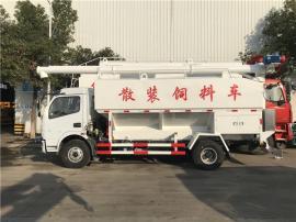 10吨猪场diandong送料车 散装饲�xi墓蕹迪�售基地