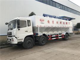 8吨 百勤饲料罐装车 6吨猪场diandong送料车畅销全guo