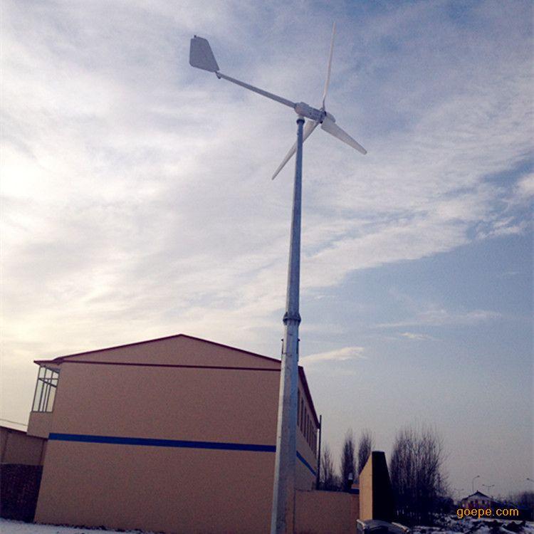 500w微型风力发电机铝合金外壳 低风速启动发电