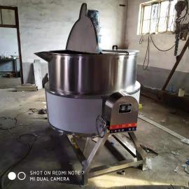 电加热炒锅304不锈钢牛肉酱搅拌夹层锅