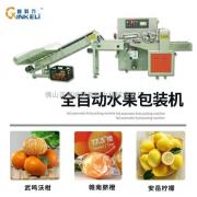 17.5度鲜橙包装机 赣南新鲜橙子自动套袋包装机