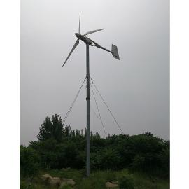 1千瓦风力交流发电机 @风力发电机家用220v1000w屋顶安装发电