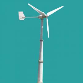 3kw小型风力发电机3000w低速静音风力发电机96v并网风力发电机