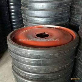 生产DFS输送机气轮实心脚轮 行走轮 机械轮 皮带机尾轮