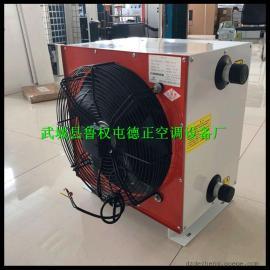 空气加热风机 工业热风机 矿井暖风机 防爆型钢管铜管翅片暖风机
