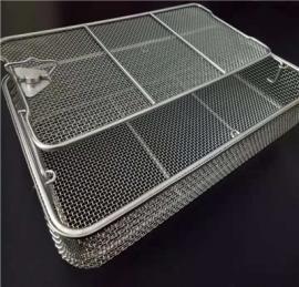 不锈钢网筐网篮 *高温灭菌筐 *消毒筐