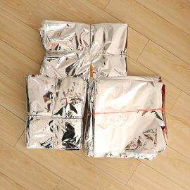 大型立体铝塑真空袋大型立体铝箔真空袋机械出口防潮防锈袋