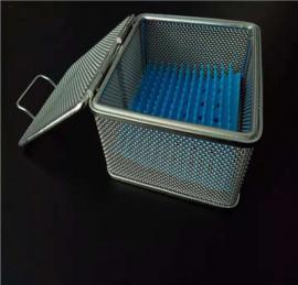 不锈钢牙科精密篮筐 丝锁带盖消毒筐 优质*消毒筐