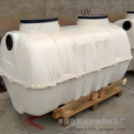 家用小型模压化粪池免费设计玻璃钢化粪池欢迎选购