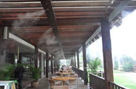 户外餐饮喷雾降温商业门头喷雾降温设备