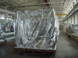机械包装16丝镀铝编织立体袋生产