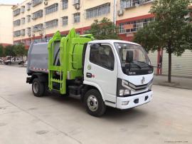东风多利卡6立方米自装卸式垃圾车