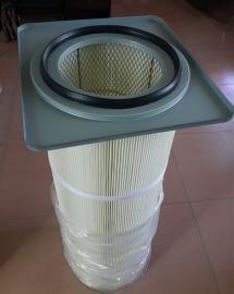 螺栓吊装除尘滤芯 卡盘式除尘滤筒 自洁式粉尘滤筒