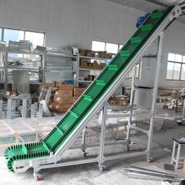 璧发*定制各种规格皮带输送机爬坡输送机自动化流水线
