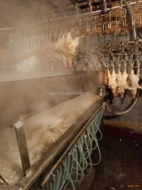 鸡鸭烫脱一体机 家禽全自动烫锅 家禽浸烫池