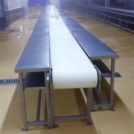 内蒙猪牛羊肉类分割输送传送机传送带屠宰厂肉类分割输送设备