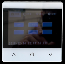 智能照明系统可编程面板信息面板可编程触摸屏