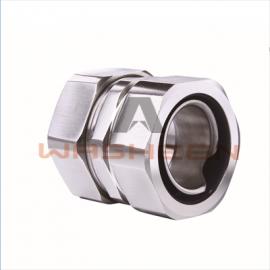 华浔电气 不锈钢DGJ自固式接头 防水软管接头