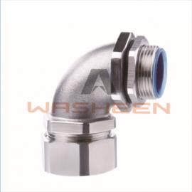 华浔电气 不锈钢DWJ90度接头 防水软管接头