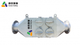 发电机用尾气净化器 陶瓷连续不间断使用DOC+DPF贵金属催化剂
