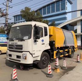东风天锦14方压缩式垃圾车价格