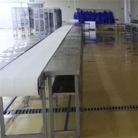 肉类分割输送流水线 屠宰厂猪牛羊肉类分割输送机输送带分割设备