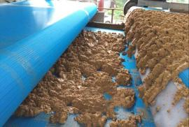浅谈洗沙污泥脱水机规格 洗矿厂泥浆脱水