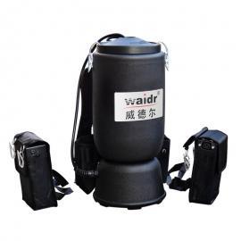 肩背式电动吸尘器车间beplay手机官方清灰充电式吸尘器WD-6L