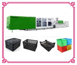 一次性塑料筐生产设备 塑料果筐注塑机