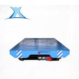 运输壳体蓄电池供电90°转向导轨小车转弯电动平车