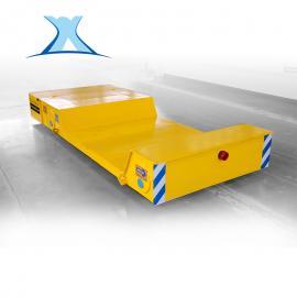 大型电器蓄电池供电车间用摆渡车有轨搬运车