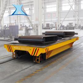 转运水泥 模具蓄电池供电单轨电动平车有轨搬运车