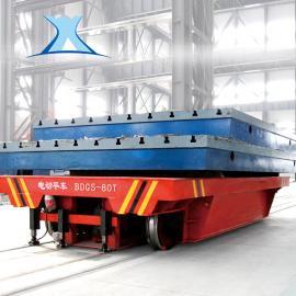 转运水泥 模具蓄电池供电单轨电动平车轨道搬运车