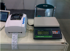 JH-Y型带打印300kg电子台秤