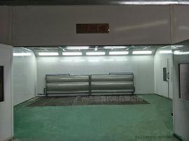 水帘式家具喷漆房,无尘喷漆房,环保喷漆房,免费保修一年